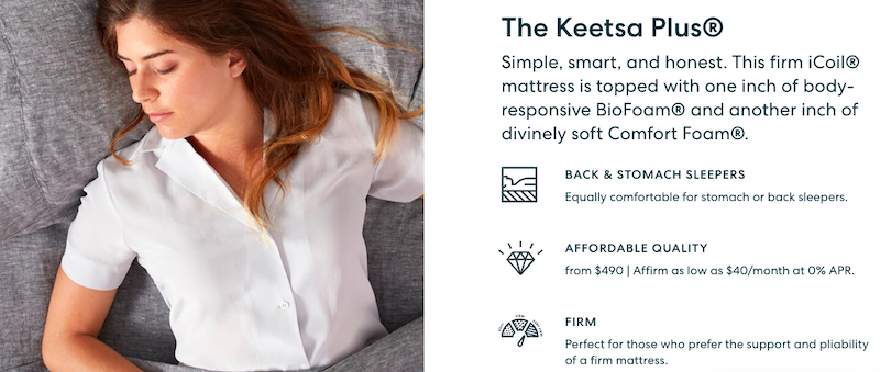 keetsa plus review as part of our keetsa mattress reviews